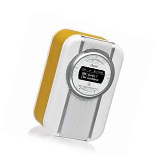 Viewquest Christie DAB FM Radio With NFC Bluetooth Speaker USB Mustard yellow