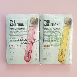 The Face Shop Face Masks