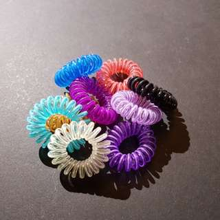 Telephone Cord Hair Tie