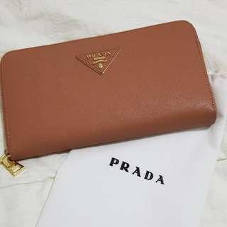 Preloved Non Ori Prada Wallet