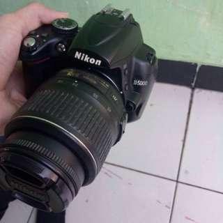 NIKON D5000 2nd (nego alus)
