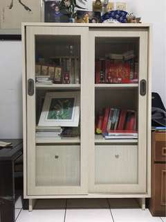 Bookshelf 2 sliding door