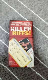 Famous Riffs Tab Cards