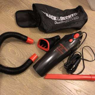 汽車吸塵機Black-Decker-AV1260-Dustbuster-Auto 欠三個吸塵配件