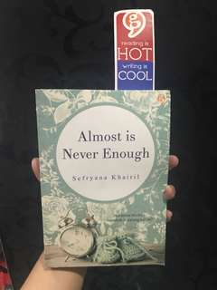 Novel Murah: Almost Is Never Enough