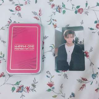 [OFFICIAL] Wanna One Premier Fancon Photocard