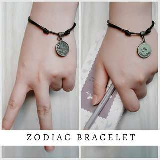 Zodiac bracelet - gift for bff & couples (buy 3 for $5)