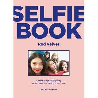 [PREORDER] Red Velvet Selfie Book