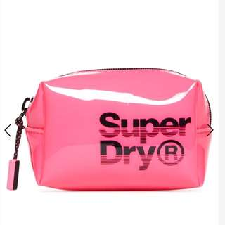 Superdry 啫喱膠 筆袋
