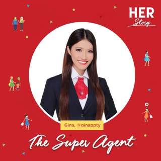 #HERStory Meet Gina, The Super Agent
