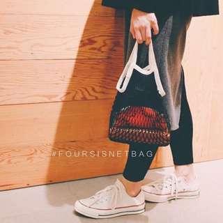 filt法國購物袋🇫🇷《黑白色》