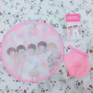 [OFFICIAL] SHINee foldable fan by Etude House