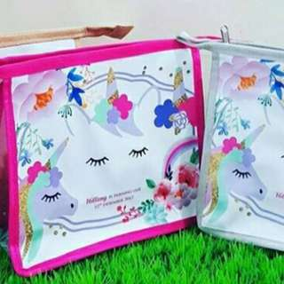 Cosmetic/toileries Pouch customised name gift