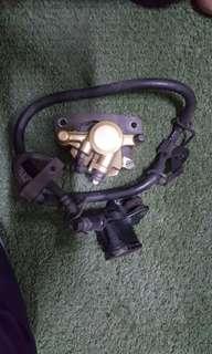 Brake pump and caliper (Original)