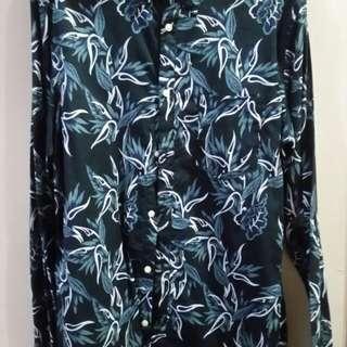 H&M Printed Button Down Shirt