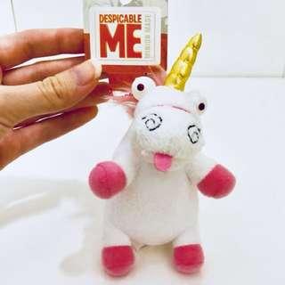 Universal studios Japan despicable me minions unicorn keychain