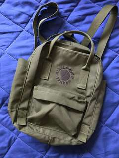 AUTHENTIC Fjallraven Re-Kanken Mini Spring Green