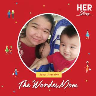 #HERStory Meet Jena, The Wonder Mom