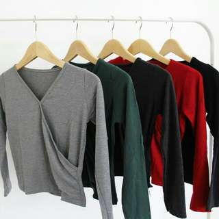 Stradivarius Longsleeve Basic Top