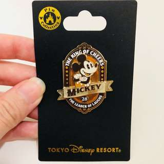 (Last pc!) Tokyo Disneysea Mickey Mouse pin (on bags/jackets)