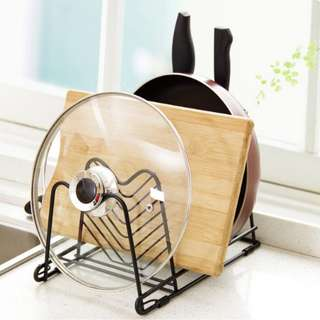Rak Panci Peralatan Dapur Serbaguna