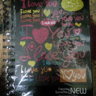 Colorful Note Book