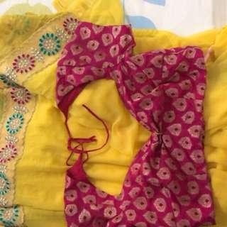 Saree & blouse