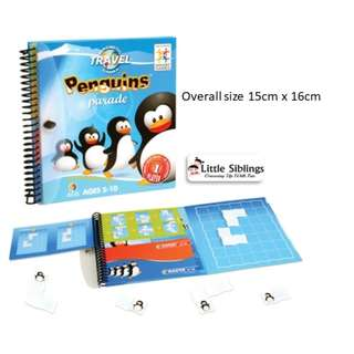 SmartGames - Magnetic Travel Games - Penguins Parade