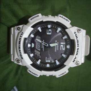 Jam tangan casio tough Solar, illuminator