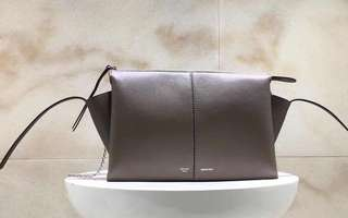Celine tri-fold clutch on chain