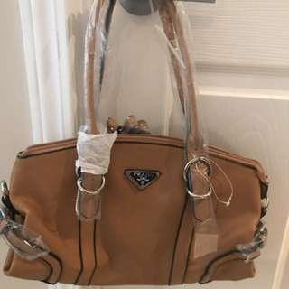 Prada Satchel Handbag Purse