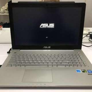 Gaming laptop Asus N550JK i7-4710HQ RAM8GB