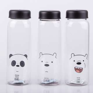 Minoso 450ml We bare bear water bottle [PO]