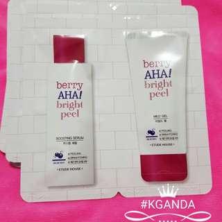 ETUDE HOUSE berry AHA bright peel