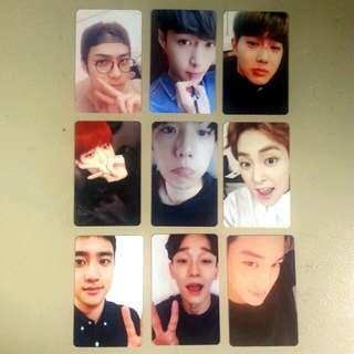 Exo Exact Duplicate Photocard Set