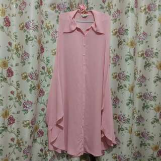 Outher spandex pink serbaguna