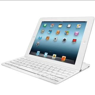 PO Logitech Ultrathin Keyboard Cover For Ipad and Ipad 2