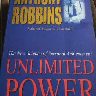 Buku Unlimited. Power Anthony Robbin