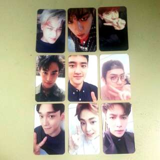 [Set] Exo Exact Duplicate Photocards