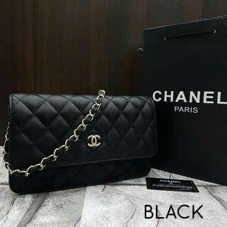 Chanel WOC Black
