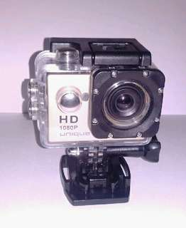 Action camera unique