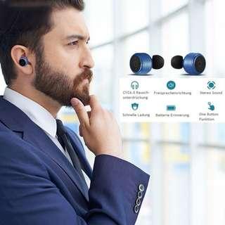 X2T mini TWS 藍芽雙耳機連充電盒套裝 Wireless Bluetooth Earbuds Headset Headphone SUPPORT IOS/Android/Windows/Mac OS