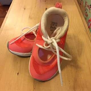 Zara童裝波鞋21碼