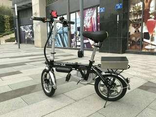 新款型爆摺疊式輕形單車方便携帶外出慳地方