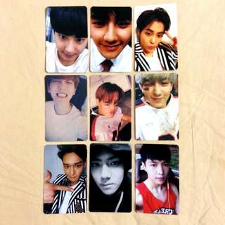 Exo Love Me Right Duplicate Photocard Set