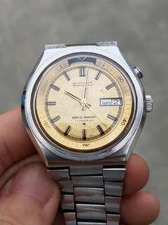 Jam tangan Vintage Seiko Bellmatic Full Original