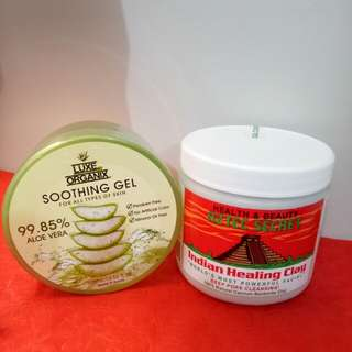 Aztec Clay and Aloe Vera Gel