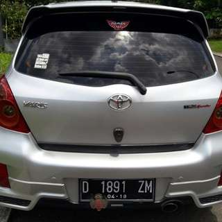 Toyota Yaris silver S limited 2013 matic