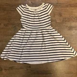 H&M Striped Dress for 1 1/2-2 yo