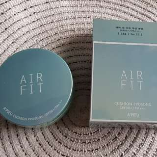 A'PIEU Air Fit Cushion Pposong No. 23 (Natural Beige)